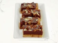 Food Network invites you to try this Mascarpone Chocolate Toffee Bars recipe from Giada De Laurentiis.