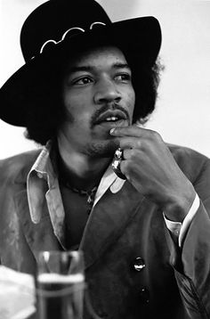 "Jimi Hendrix by Baron Wolman. ""Maybe he would have repeated his old stuff. Maybe he would have written new stuff. Maybe it would have burned him out, who knows? Maybe he would have risen to yet another enormous musical high. Impossible to even begin to imagine what it could have been like."""