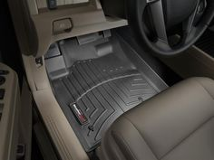 2012 Honda Pilot | WeatherTech FloorLiner custom fit car floor protection from mud, water, sand and salt. | WeatherTech.com