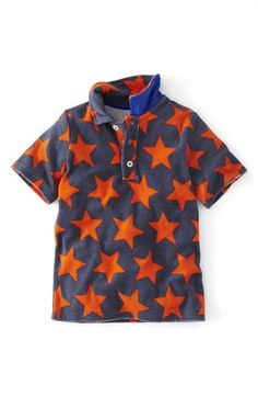 Mini Boden 'Towelling' Terry Cloth Polo (Toddler Boys, Little Boys & Big Boys) available at #Nordstrom