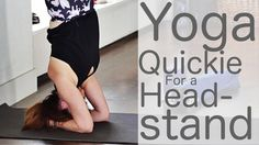 13 Minute Yoga Quickie for a Headstand with Fightmaster Yoga