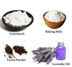 2 DIY Dry Shampoo Recipes for Dark & Light Hair.