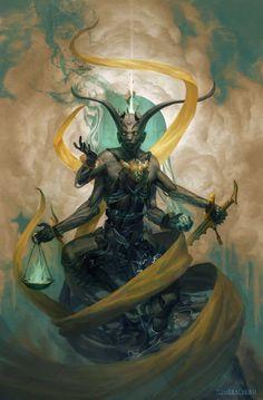 Божество Deossimomer не поклонение ему было черепковым культом.