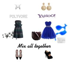 """Polyvore and Yahoo!"" by abmb ❤ liked on Polyvore"