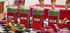 Juice up with Mickey and the Roadster Racers Goofy Gas printable Juice Box Wrap!