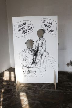 Festival Lustr, práce od Myokard, illustration, foto: Iri Novak #design #czechdesign