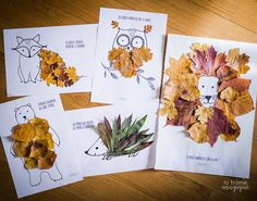 animaux-feuilles-imprimable