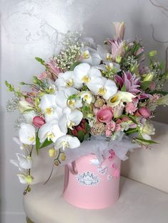 Mothers Day Flowers, Flowers For You, Pink Flowers, Beautiful Rose Flowers, Simple Flowers, Ikebana, Flower Bouquet Diy, Different Kinds Of Flowers, Luxury Flowers