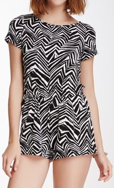 934a0bf47c5 cute black and white romper Black And White Romper