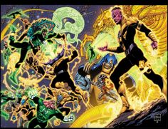 Absolute Sinestro Corps War Cover