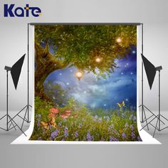 New Halloween Pumpkin House Backdrop 7x5FT Photography Background Props DIY Kit Child Birthday Dress Up Party Fairy Tale Forest Photo Booth Banner