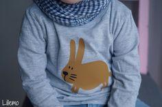 passend zum neuen  Frühlingshasen Stoff  bei Lillestoff   habe ich für euch einen Hasen zum Plotten vorbereitet :-)   Ihr könnt ihn eu...