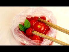 Télen már nem vásárol paradicsomot! # 403 - YouTube Preserving Food, Preserves, Pickles, Cooking Tips, I Foods, Canning, Vegetables, Salsa, Youtube