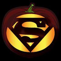 Superman Logo CO - Stoneykins Pumpkin Carving Patterns and Stencils