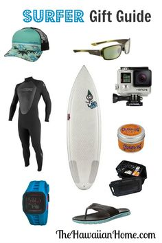 Surfer Gift Guide - The Hawaiian Home