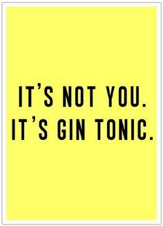 Poster - Gin Tonic von Wasted Rita