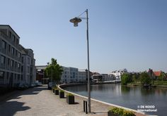 Moderne straatverlichting DE NOOD International in Op Buuren | Kijk voor meer informatie op www.denoodgroup.nl