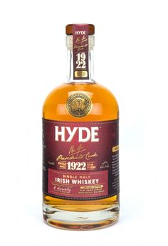 Hyde premium Irish whiskey: Single malt finished in a dark Rum cask! Bourbon Whiskey, Scotch Whisky, Rum, Single Malt Irish Whiskey, Whiskey Lullaby, Whiskey Brands, Distillery, Brewery, Wine And Beer