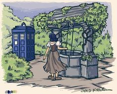 Doctor who and Disney princess  snow white crossover by karen hallion