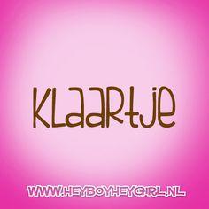 Klaartje (Voor meer inspiratie, en unieke geboortekaartjes kijk op www.heyboyheygirl.nl)