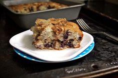 dessert cake recipe - blueberry yogurt cake