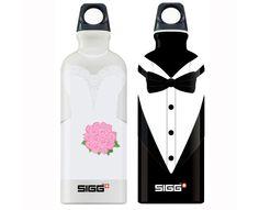 Un'idea fresca fresca: bottigliette d'acqua personalizzate