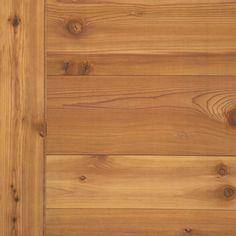 American Pacific x Western Red Cedar Plywood Panel at Menards Cedar Paneling, Cedar Walls, Cedar Planks, Pine Walls, Red Cedar Wood, Western Red Cedar, Cedar Lumber, Doors