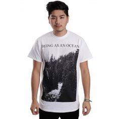 Being As An Ocean - Mountains White - T-Shirt - Being As An Ocean - Merchandise Online Shop - Impericon.com