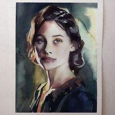 Segunda-feira, #aquarela #watercolor. Workshop em SP: 1 e 2 de outubro. Inscrições:contato@pleinairstudio.com.br.