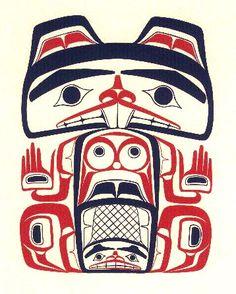 """Robert Davidson, Haida """"Beaver"""""""