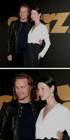 Sam and Cait at the STARZ Party, 2016