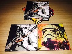 Star Wars Stormtrooper Untersetzer  Selfmade