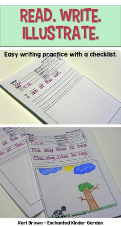Teachers will love these quick and easy writing practice sheets. The best thing about them is the little checklist that is included in every sheet to remind kiddos how to correctly form a sentence.