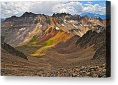 Blue Lakes Pass Photograph by Aaron Spong - Blue Lakes Pass Fine Art Prints and Posters for Sale