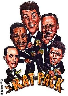 The Rat Pack representation - undated.