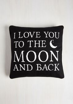 moon love pillow  moon witchy goth occult nu goth fachin pillow home decor bedroom modcloth