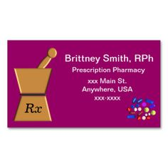 191 best pharmacist business cards images on pinterest in 2018 pharmacist business cards pestle and mortar ll colourmoves