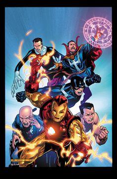 """¿Qué son los """"Iluminatis"""" en Marvel"""""""