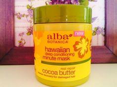 Мои покупки и отзывы на iHerb.com: Маска для волос Alba Botanica Fountain Of Youth, Deep Conditioning, Damaged Hair, Hair Brush, Cocoa Butter, Hair Products, Brushes, Conditioner, Skincare