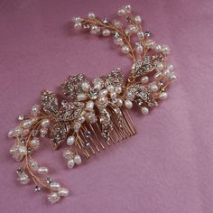 Find More Hair Jewelry Information about Wedding Spray Comb Pearl And Rhinestone Floral Vine Bridal Hair Comb Hand Wired Twigs Comb Women Hair Jewelry,High Quality jewelry argentina,China hair scalp Suppliers, Cheap hair jewelry wedding from ONLY BRIDE on Aliexpress.com