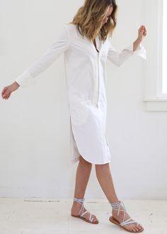 Eden Cotton Poplin Dress