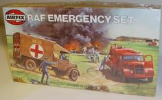 Airfix 9 02304 - RAF Emergency Set - Vintage Plastic Kit (1:72) | eBay