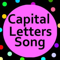 Teach young learners when to use capital letters a fun Capital Letters song (lyrics included).
