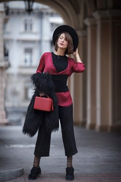 Be inspired for chic and playful outfit ideas with the hottest street style fashion trends! Outfits With Hats, Stylish Outfits, Cool Outfits, Street Style Chic, Autumn Street Style, Diy Fashion, Fashion Outfits, Womens Fashion, Style Fashion