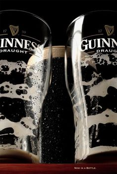 Guinness. Now in a bottle.