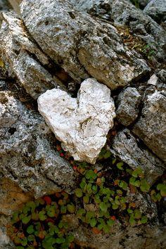 Heart rock.