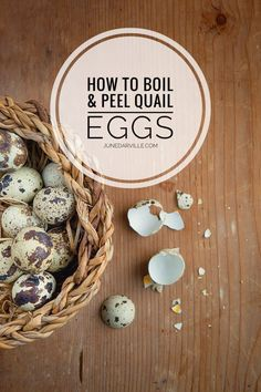 Say goodbye to the tantrums and f-words: here's how to boil and peel quail eggs easily! Drop dead simple and fail proof. you can thank me later! Quail Recipes, Egg Recipes, Game Recipes, Asian Recipes, Yummy Appetizers, Appetizer Recipes, Dinner Recipes, Party Appetizers, Party Snacks