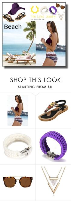 """Tan Lines Jewelry Love"" by markitahamilton3 ❤ liked on Polyvore"