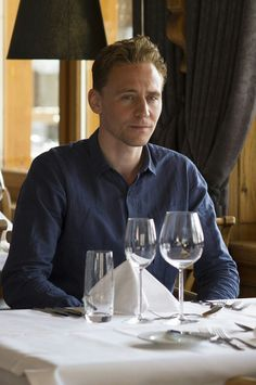 Tom Hiddleston as Jonathan Pine