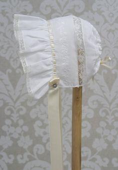 Suzette Bonnet - ChristeningOutfits.org